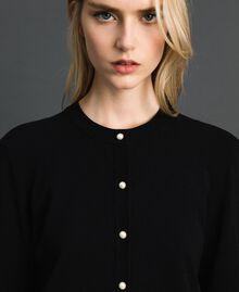 Coreana con bottoni a perla Nero Donna 192TP3240-05