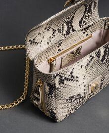 Petit sac à bandoulière Rebel avec imprimé python Imprimé Python Roche Femme 192TO7231-05
