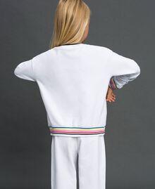 Sweatshirt with multicolour logo Black Child 999GJ2011-03