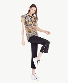 Pompom trousers Black Woman SS82JU-05