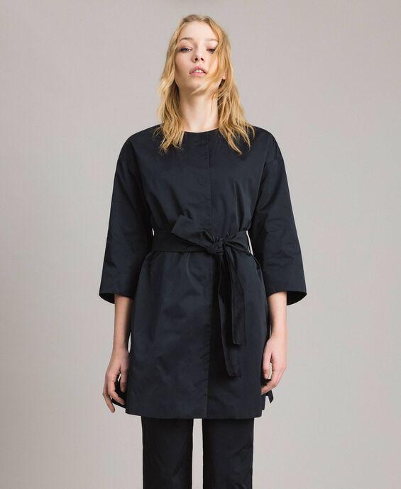 Manteau cache-poussière en taffetas