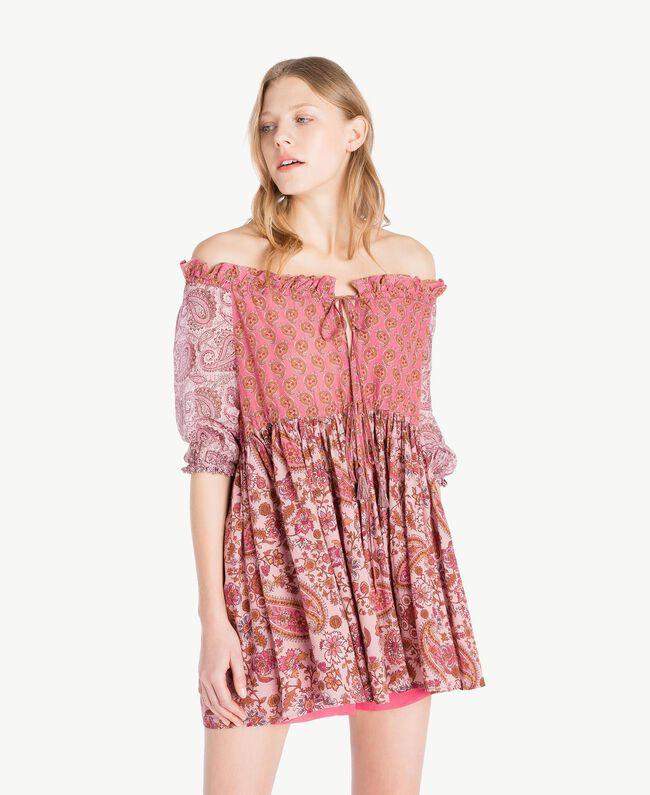 printed blouse Mixed Paisley Print Woman TS82XD-01
