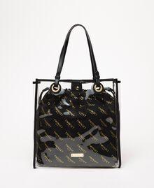 Cabas avec sac griffé Blanc Femme 201TA7180-01