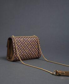 Petit sac à bandoulière avec imprimé papillons Imprimé Papillon Or Foncé Femme 192TO801M-04