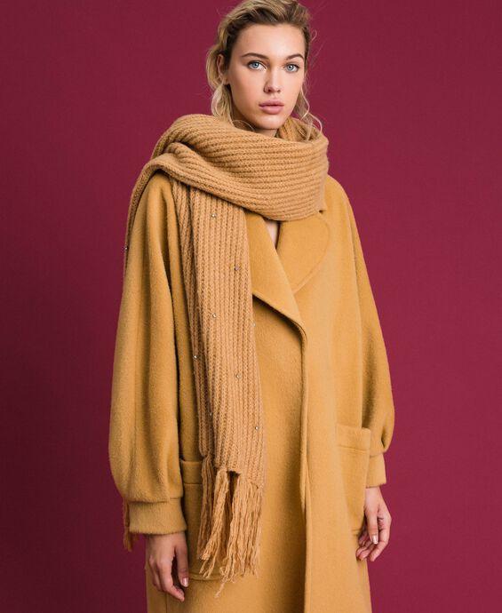 Bezel and fringe scarf