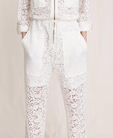 Macramé lace jumpsuit Black Woman 201TP2195-04