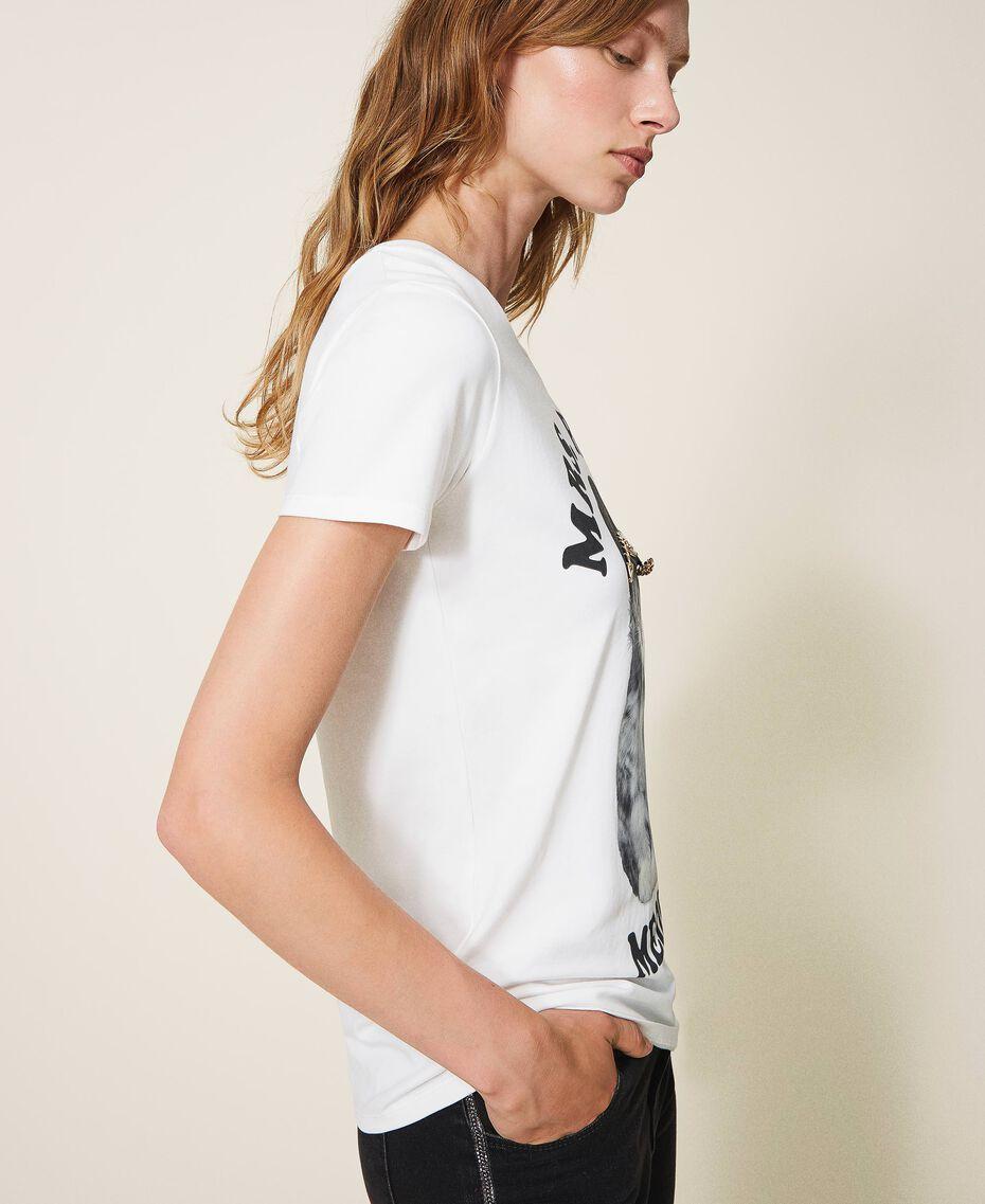 T-shirt imprimé Off White Femme 202MT2306-02