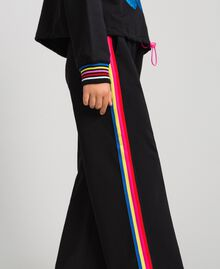 Hoodie and trousers Black Child 999GJ2013-05
