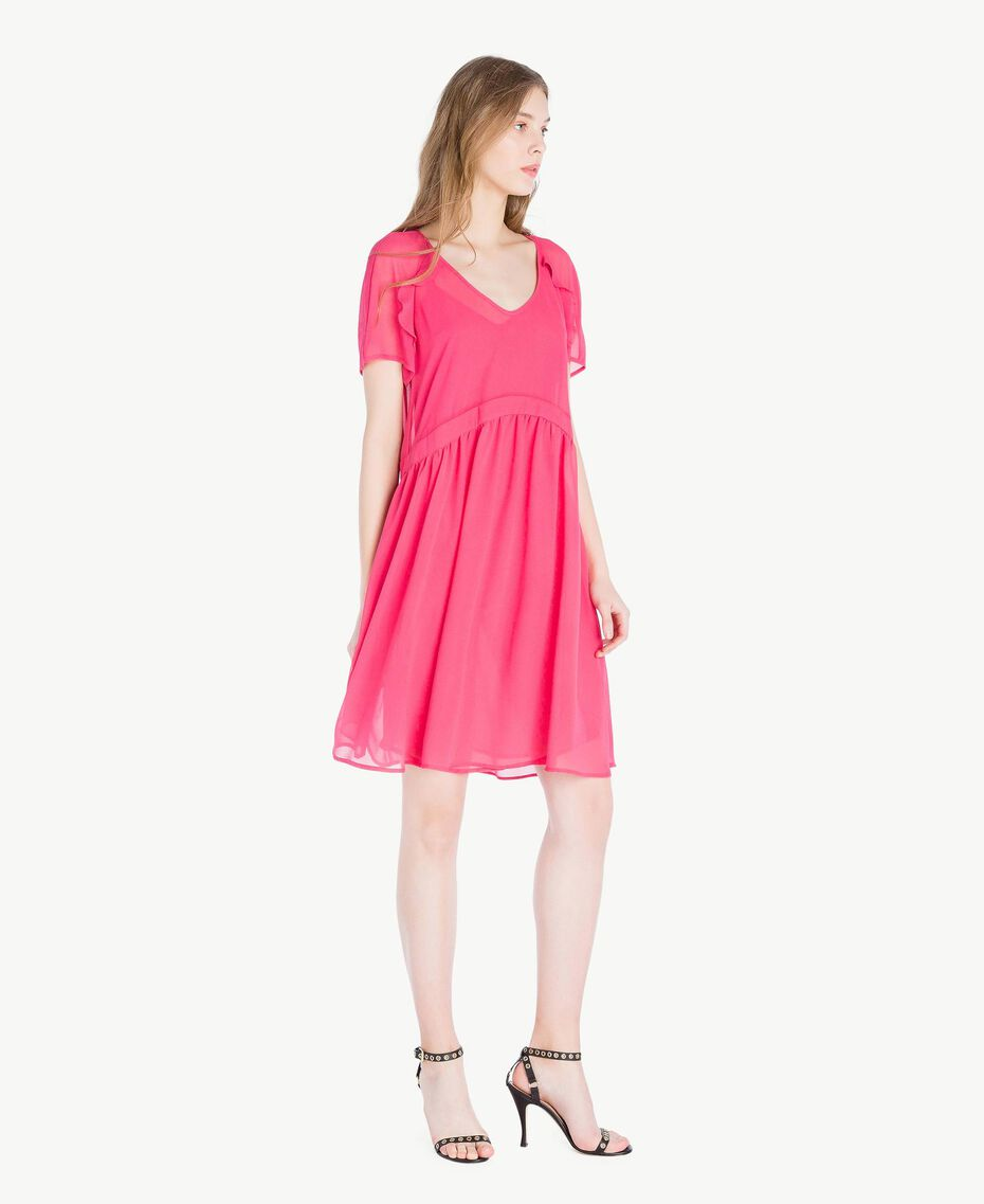 Georgette dress Provocateur Pink Woman TS82WB-02