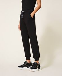 Pantalon de jogging en scuba Noir Femme 202LI2JNN-02