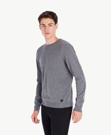 Cashmere top Dark Gray Mélange Male UA73CA-01