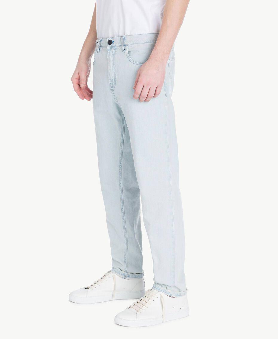 5-Pocket-Jeans Denimblau Mann US82BP-02