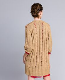 Maxi cardigan effetto mélange Camel Donna PA8372-03