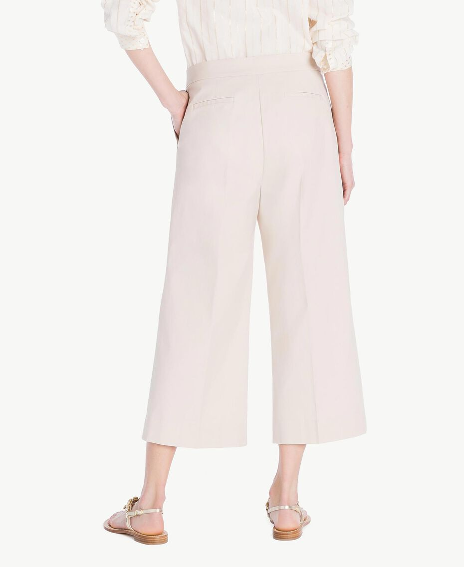 Poplin cropped trousers Dune Woman TS821U-03