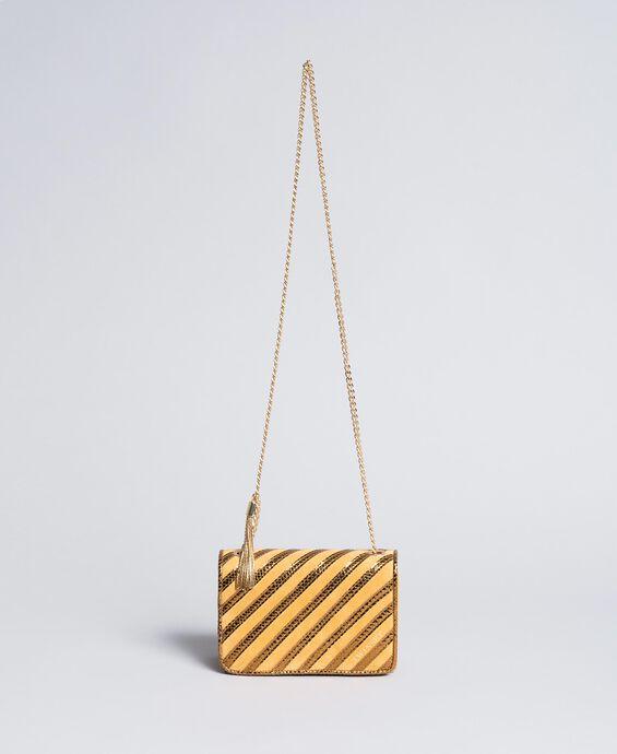 Замшевая мини-сумка через плечо