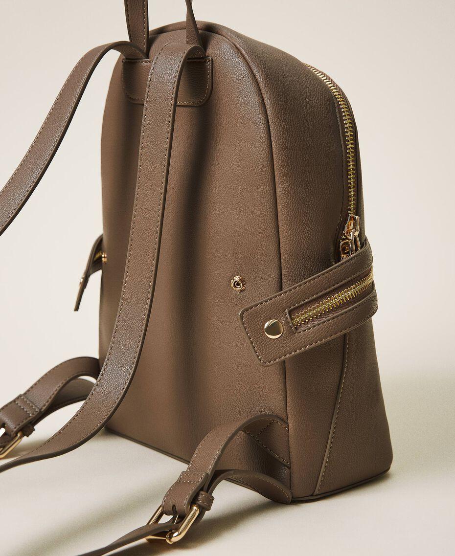 Рюкзак New Cécile с круговой молнией Бледно-коричневый с серым оттенком женщина 202TB7184-02