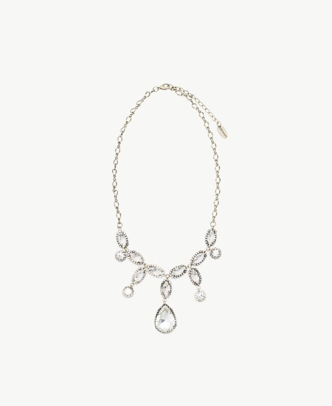 Collier ras-de-cou strass Cristal Femme AS8P7F-01