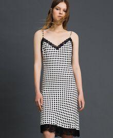 'Tury x Twinset' polka dot slip White Polka Dot Print Woman 192LL21EE-02