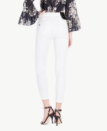 Skinny trousers White Woman YS82ZQ-03