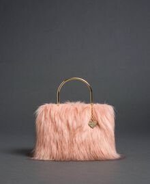 Bolso bandolera de piel sintética Rosa «Peach» Mujer 192LL7ZNN-02
