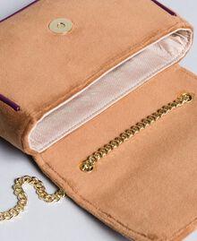 Бархатная сумка через плечо с вышивкой и стразами Camel женщина AA8PBN-04