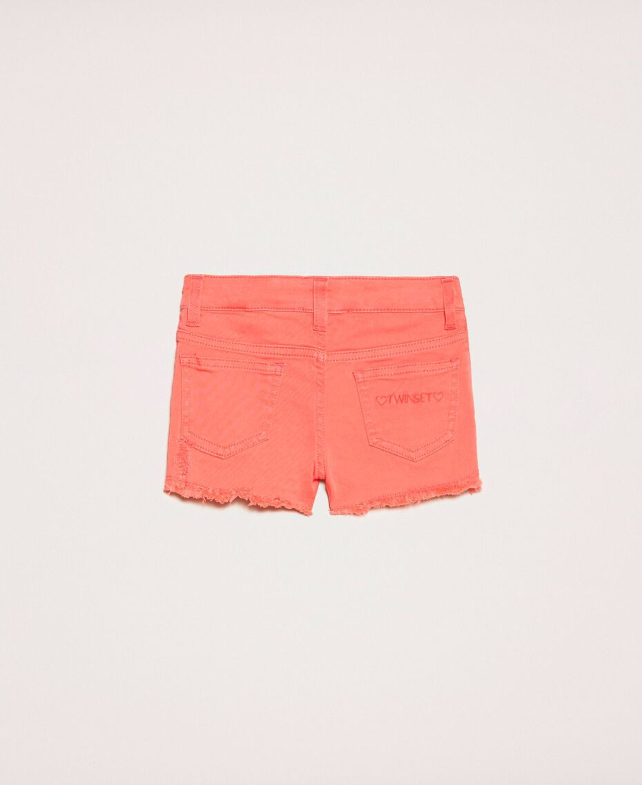 """Ripped shorts """"Calypso Coral"""" Red Child 201GB2031-0S"""