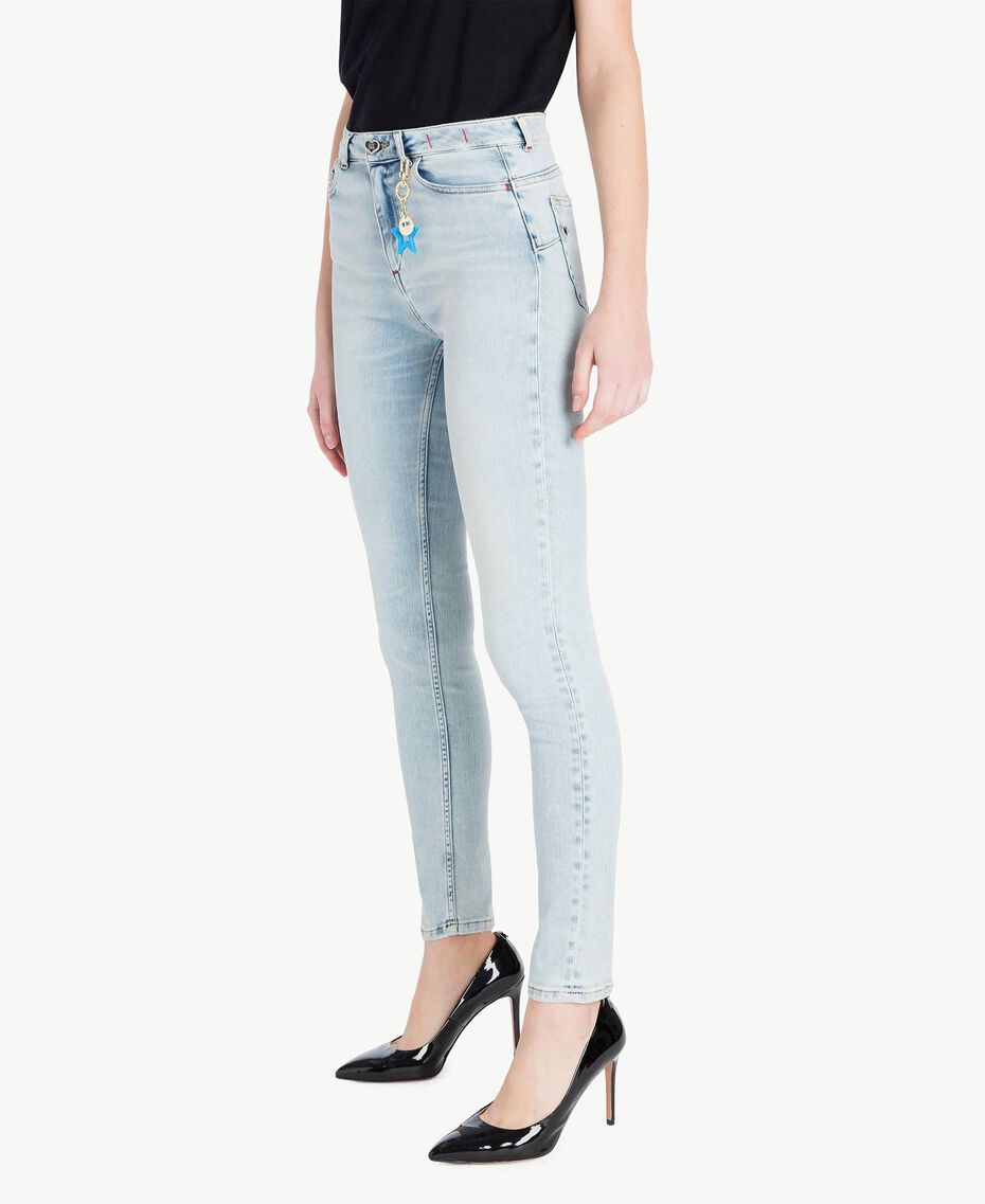 Skinny-Jeans Denimblau Frau JS82WG-02