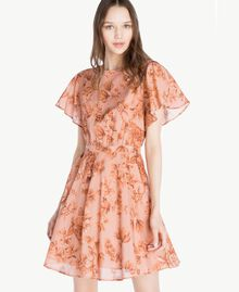 Robe imprimée Imprimé Porcelaines Rose Antique Femme SS82MQ-04
