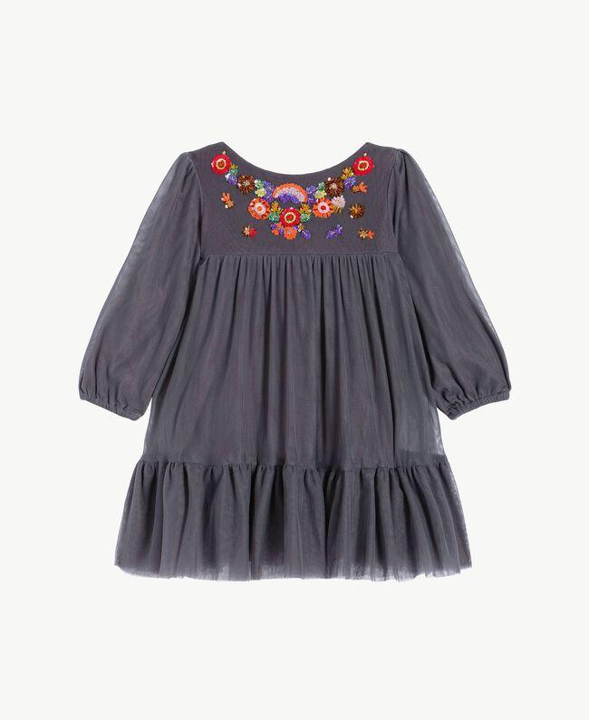 Embroidered dress Lava Grey FA72JP-01