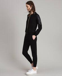 Pantalon de jogging Noir Femme 191LB22PP-03