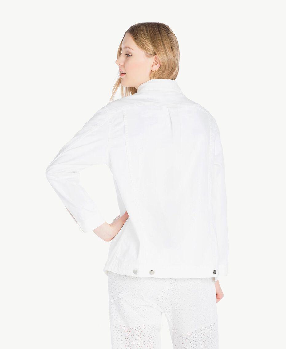 Stars jacket White Woman JS82Z7-03