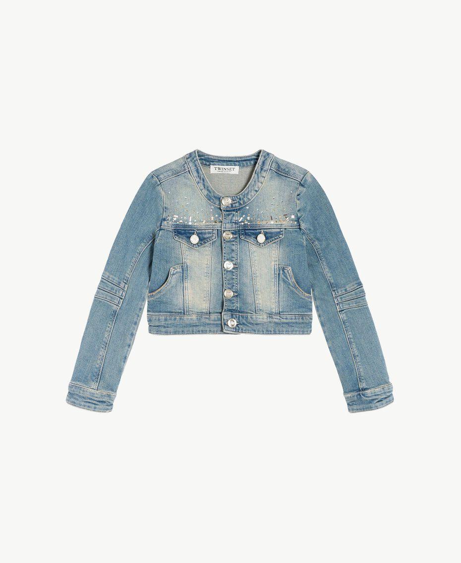 """Denim jacket """"Mid Denim"""" Blue Child GS82T1-01"""