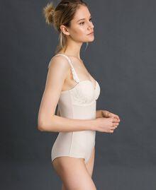 Body bandeau avec dentelle Crème Femme 192LI6100-02