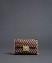 Petit sac à bandoulière avec imprimé papillons Imprimé Papillon Or Foncé Femme 192TO801M-03