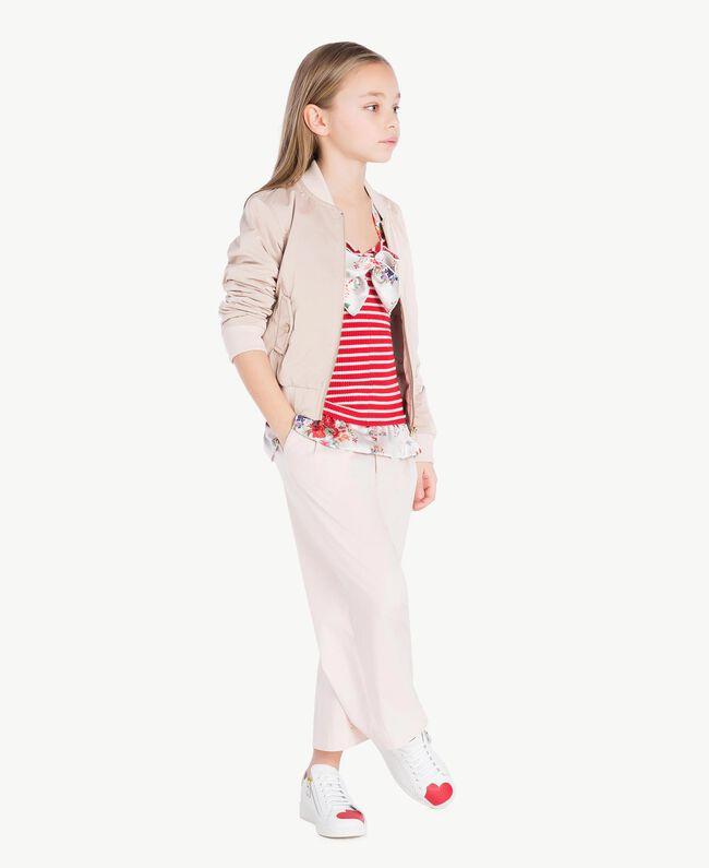 Poplin trousers Bud Pink Child GS82QQ-06