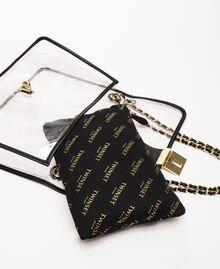 Grand sac à bandoulière avec pochette Blanc Femme 201TA7181-04
