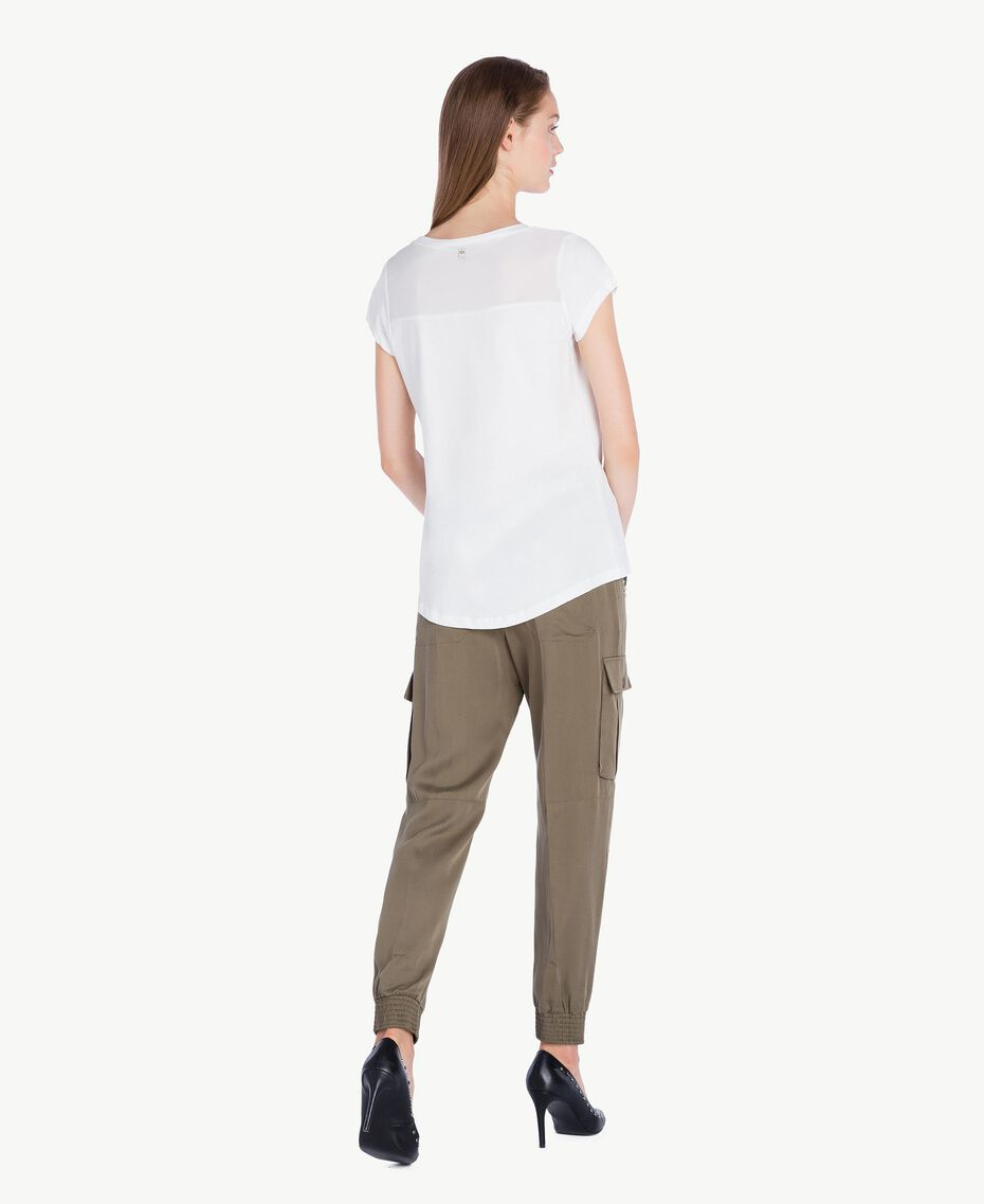 Twill trousers Alpine Green JA72HQ-03