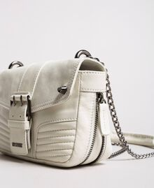 Rebel leather shoulder bag White Snow Woman 191TA7237-03