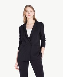 Georgette jacket Black Woman PS8256-01