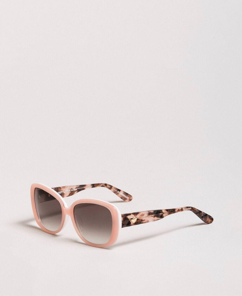 Cat-eye sunglasses Bud Pink Woman 999TZ4010-01
