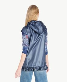 Ruffled jacket Dallas Blue Woman JS821C-03