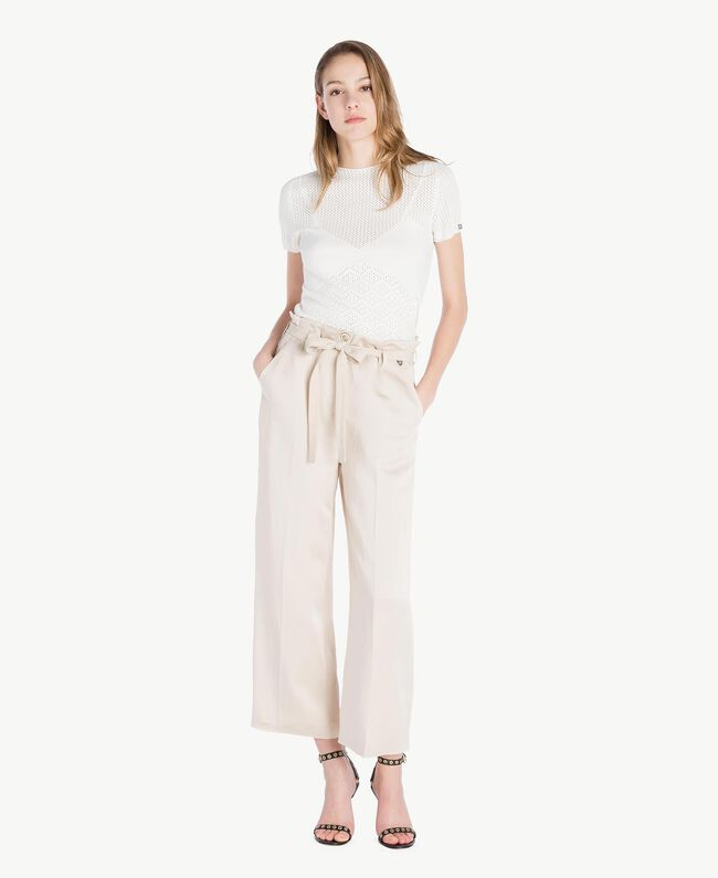 Pull viscose Ivoire Clair Femme TS832S-05