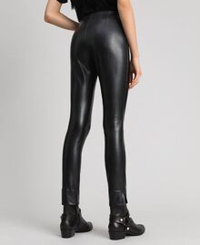 Leggings in similpelle Nero Donna 192TP2061-04