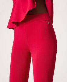 "Knit trousers ""Cerise"" Fuchsia Woman 202MP3104-05"
