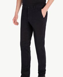 Pantalon chino Noir UA72CA-04
