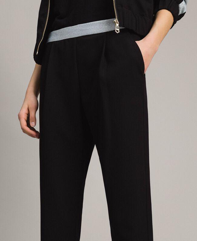 Drainpipe trousers Black Woman 191LL25AA-03