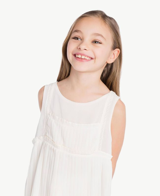 Robe plissée Chantilly Enfant GS8LDP-05