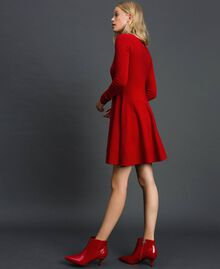 Knitted full dress Venetian Red Woman 192TT3281-02
