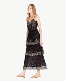 Robe tulle Noir Femme TS82EG-02