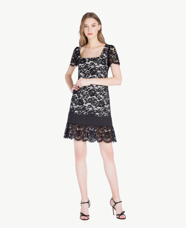Robe dentelle Noir Femme TS828P-01